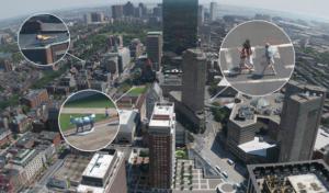 система городского видеонаблюдения Безопасный город